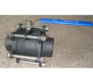 3PC Butt Weld Ball Valve