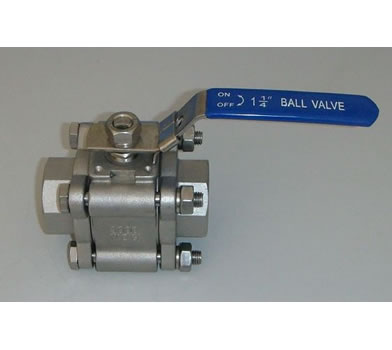 3PC Screwed Ball Valve(2000WOG)