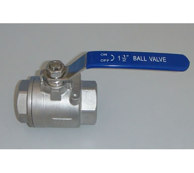 2PC Screwed Ball Valve(2000WOG)