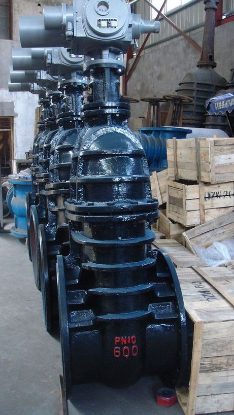 Motor Cast Iron Gate Valve