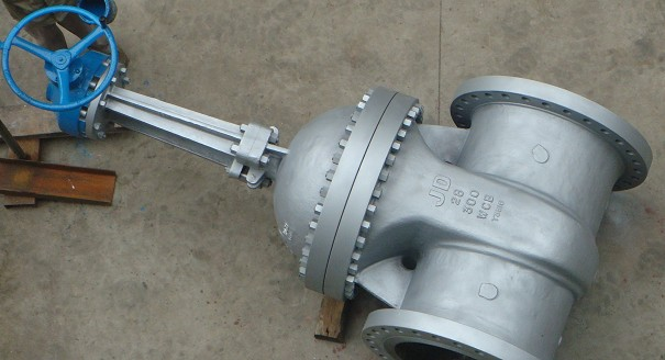 worm gear cast steel gate valve