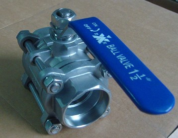 Socket Weld SS316L Ball Valve