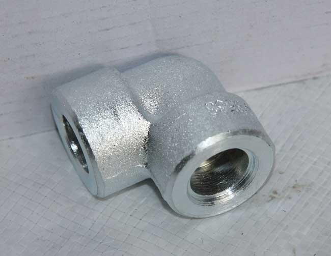 Glanized Socket weld elbow