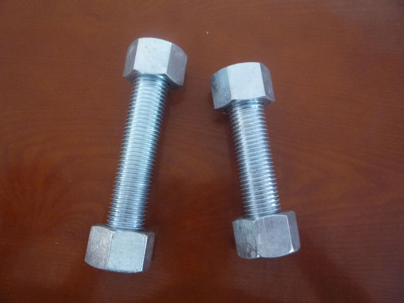 Galanized bolts and nuts