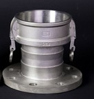 Type B flange end
