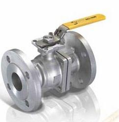 ball valve with ISO 5211 direct mounting pad