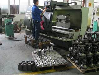 CNC Machine Big Valve