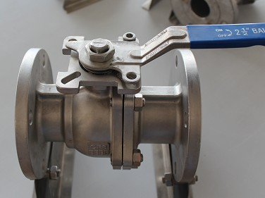2PC Flanged Ball Valve
