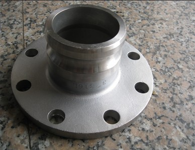 Type A with flange end